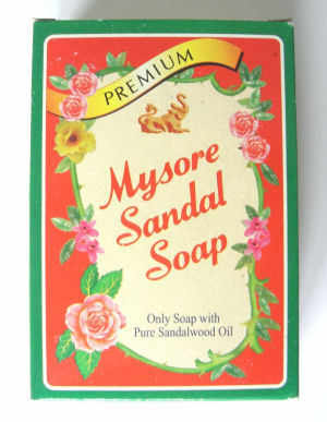 Mysore Sandal Soap natural herbal Ayurvedic 75g bar (mysore)