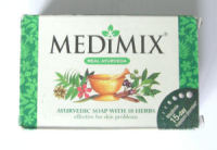 Medimix Herbal Ayurveda Natural  Soap 125g bar (med125)