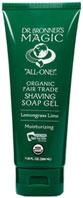 Dr Bronner Organic Shikakai Shaving Gel - Lavender