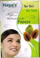 <!--025-->Multani (Fuller's Earth) with Papaya Face Pack Powder  - Haya