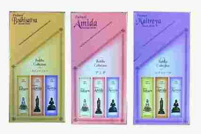 Buddha Incense -  3 exotic aromas for the price of 2