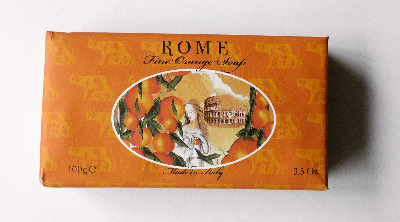 Orange - Handmade Italian Soap ROME