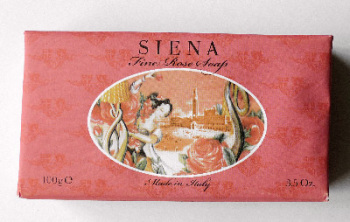 Rose - Handmade Italian Cities Soap SIENA