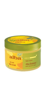 Sea Salt Body Scrub - Hawaiian - Alba Botanical