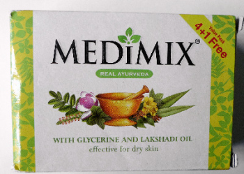Medimix Ayurveda Natural  Soap with Lakshadi Oil 125g  *NEW*