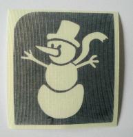 SnowmanTemporary Henna Tattoo