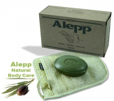 <!--013-->Aleppo Herbal Soap with Black Onion & Rose 125g