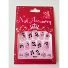 Stickers for Nails - Little Miss Diva - Musical  Snail Nails