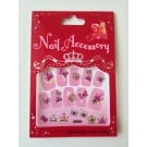 Stickers for Nails - Perfect Princess  - Bows & Tiara
