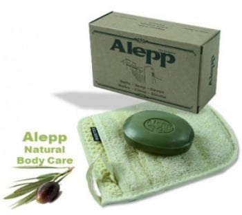 Aleppo Herbal Soap 10% Laurel Black Onion & Clove125g (030)