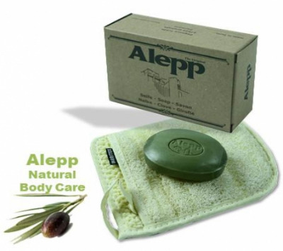 <!--010-->Aleppo Herbal Soap 10% Laurel Black Onion & Clove125g