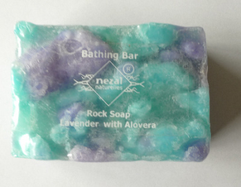 Rock Soap with Lavender & Alovera  - Nezal