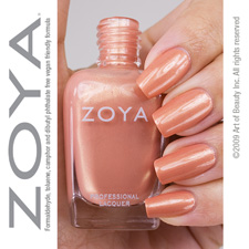 Zoya Nail Polish  - LYRIC - chemical & odour free