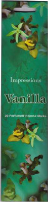Vanilla Incense Sticks  20 Sticks
