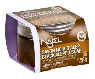 <<!--008-->Aleppo black scrubbing soap ORGANIC 100 grams
