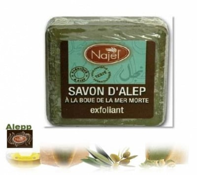 <!--034-->Aleppo Herbal Dead Sea Clay Soap 100g