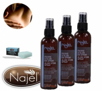 Najel Aleppo Deodrant spray with Alum 125g