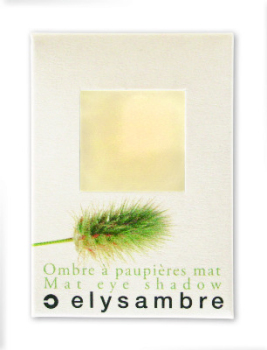 Elysambre Eyeshadow  Matt Yellow / Beige (08)