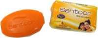 Sandal with Turmeric  Soap  34g Santoor