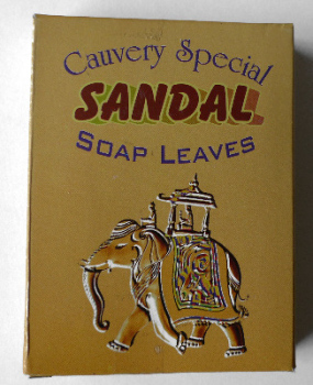 Soap Leaves - Sandal - Cauvery - box of 50