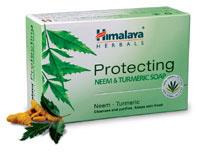 Soap - Neem & Turmetic - Ayurvedic - Himalaya Herbal