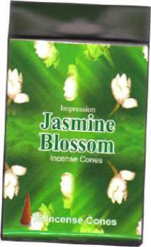 Incense Cones - Jasmine  Blossom (15 Cones)