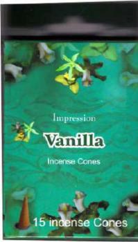 Incense Cones - Vanilla (15 Cones)