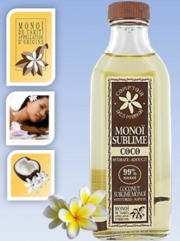 Skin/hair care oil Coconut  - Monoi de Tahiti  Care - 100 ml