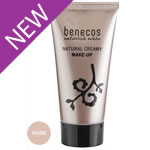 Foundation Liquid - Natural & Creamy - NUDE - Benecos