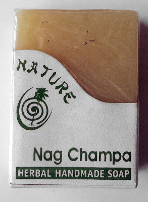 Nag Champa Herbal Handmade Soap