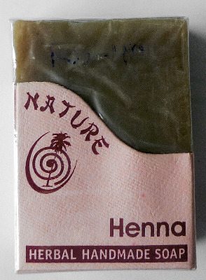 Henna Herbal Handmade Soap