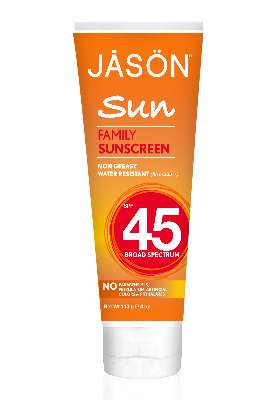 Sunblock  SPF45 for family 113g - Jasons's