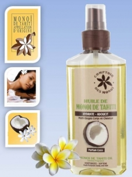Skin/Hair care oil - in spray - Coconut - 100 mls