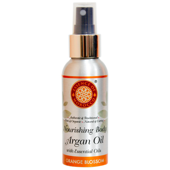 Moroccan Orange Blossom - Body Argan Oil - Essence Of Morocco - 100ml