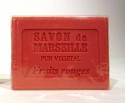 Marseille Red Fruit Soap 100g