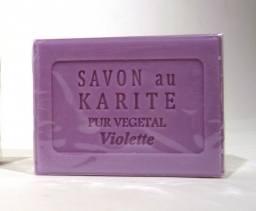 Shea Butter Violet Soap 100g