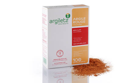 Argiletz - Red Clay Ultra-ventilated - Skin softening 200g