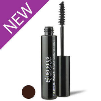Mascara - Natural Maximum Volume - Smooth Brown - 8ml Benecos