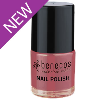 Nail Polish - Benecos Happy Nails - ROSE PASSION