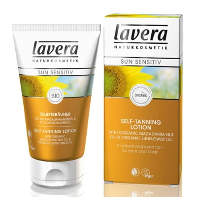 Self Tanning Lotion for face & body with Macadamia Nut Oil - Lavera