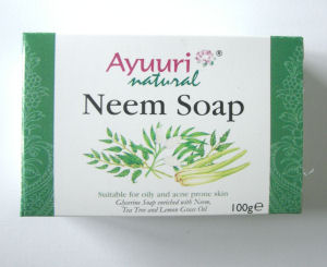 Neem Ayuuri Natural  Soap 100g bar (Neem1)