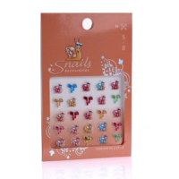 <!-- 103 -->Stickers for Nails - Smiley Snails