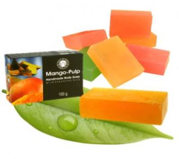 Mango Pulp with Essential Oils - Herbal Soap