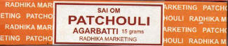 Patchouli Incense Sticks   Box - Sai Om