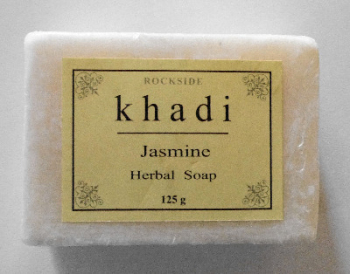 Jasmine Herbal Soap with Neem - Khadi 125g