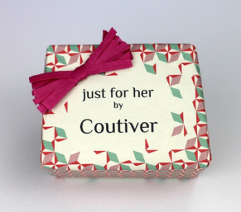 French Artisan Soap - Just for Her Gift Pack of 3 - Coutiver