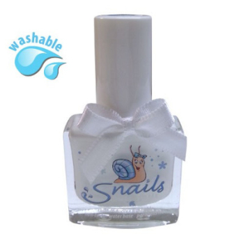 FROST - White  Snails  Nails Washable Polish