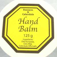 Hand Balm natural with beeswax & Calendula 125g (CorHBalm)