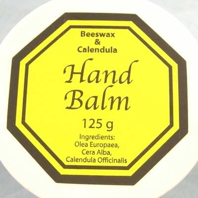 Hand Balm natural with beeswax & Calendula 125g (CorHBalm)