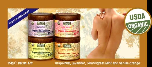 shea-creams organic essence